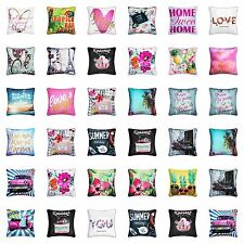 Multi Design Floral Print Cushion Covers Size 18×18 inch 45cm x 45cm Set of 4