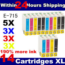 14 Compatible Ink Cartridges for Stylus Inkjet Printer