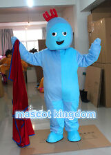 In The Night Garden Birthday Party Cartoon Dress Iggle Piggle Mascot Costume