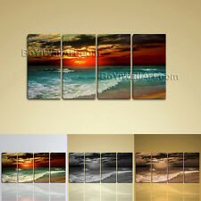 Large Fine Dawn On Island Bali Landscape On Canvas Wall Art Giclee Print BedRoom