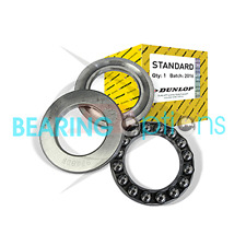Dunlop Thrust 3 Part Bearings Genuine Dunlop Bearings 51100 - 51110 Series