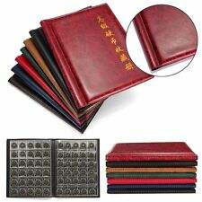 250 Coins Pockets Collecting World Coin Collection Storage Holder Money Album Bo