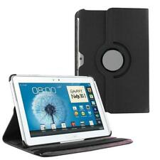 """PU Leather Rotating Stand Case Cover For Samsung Galaxy Note 10.1"""" N8000 N8010"""