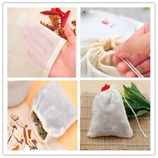 "8""x10"" Large Cotton Muslin Drawstring Reusable Bags Bath Soap Herbs Tea Pack Lot"