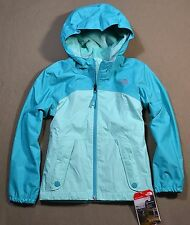 NWT GIRLS THE NORTH FACE ICE GREEN WARM STORM JACKET FULL ZIP HOODIE SZ XXS-L