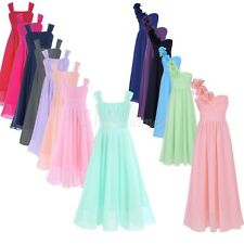 Flower Girl Pageant Bridesmaid Birthday Communion Party Prom Princess Tutu Dress