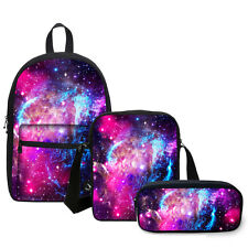 Womans Canvas Daily Schoolbags Backpacks Book Bags Side Bags Pen Case Kids Gifts