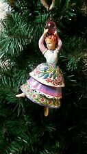 Jim Shore Christmas hanging ornament - 12 Days of Christmas - 9 Ladies Dancing