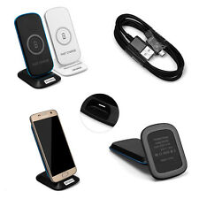 New Square Stand Wireless Charging Pad Qi Charger For Samsung Galaxy S6/S7 Edge