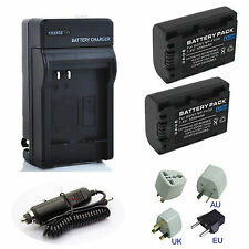 NP-FV50 Battery / Rapid Charger For Sony  NP-FH70 FH100 NP-FV100 NP-FV50 NP-FH50