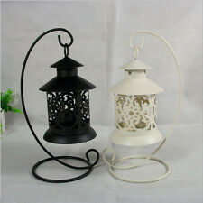 1Pcs European Hot Candle Candle Style Candlestick Stand Iron Hollow Classical