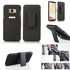 For Samsung Galaxy S8 S8 Plus Case Cover Holster Belt Clip Stand phone accessory