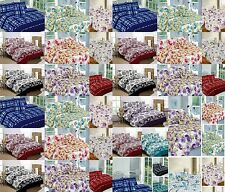 5 Piece Bed in Bag Complete Bedding Duvet Quilt Cover Set Single Double King New