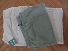 L. L. BEAN SUNWASHED CANVAS CROP PANTS
