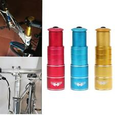 Aluminium Bike Bicycle Fork Stem Extender Handlebar Riser Adapter Head Up 28.6mm