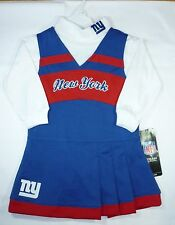 NFL New York Giants Girls Cheerleading Outfit