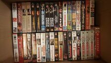 various action/sci-fi vhs/pal videos choose your own