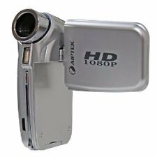 AIPTEK A-HD Pro 1080p 128 MB Camcorder -  Silver
