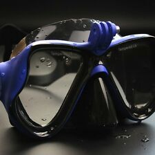 Blue Diving Mask Scuba Snorkel Goggles Face Glasses Mount for GoPro Hero 3 3+421