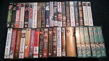 various Thriller/Drama vhs/pal videos choose your own