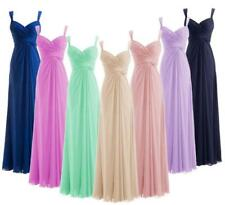 New Formal Chiffon Evening Party Cocktail Gown Prom Wedding Bridesmaid Dress J53
