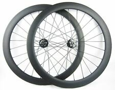 50mm Cyclocross Disc Carbon Wheelset. 12*142/15*100mm Clincher Shimano UK SELLER