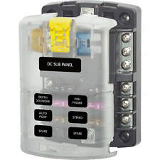 Blue Sea Systems ATO/ATC 6 Circuit Fuse Block with Cover 5025