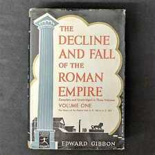GIBBON The Decline and Fall of the Roman Empire, Vol 1, Modern Library 1946 HC