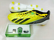 Adidas F50 Adizero TRX FG Leather Football Boots with MiCoach Bundle RRP £200