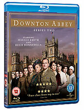 Downton Abbey - Series 2 - Complete (Blu-ray, 2011, 3-Disc Set)