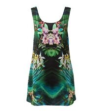 FOREVER NEW BEAUTIFUL LUCY MIRROR PRINT SHIFT DRESS SIZE 8 Evening/wedding/NWT