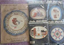 CHOOSE ONE: DALE BURDETT VINTAGE COUNTRY COUNTED CROSS STITCH KITS-Some Frames