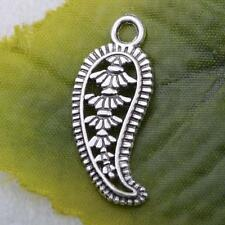 Wholesale 15pcs/50pcs/100pcs tibet silver hollow out chili charm pendant 11x27mm