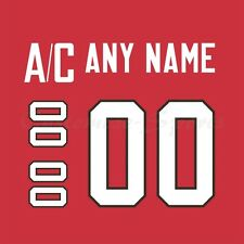 IIHF Olympic Hockey 2014 Team Canada Red Jersey Customized Number Kits un-sewn
