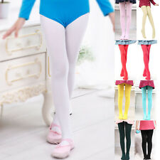 Baby Girl Kid Ballet Dance Stocking Footed Socks Tights Hosiery Pantyhose