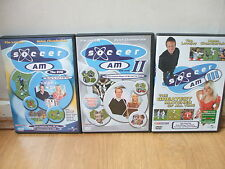 SOCCER AM 1,2 &3 DVD 2004,5&6 REGION 2 TIM LOVEJOY R2 UK PAL