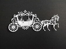 10 Tattered Lace die cuts LACE CARRIAGE