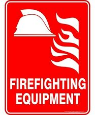 Safety Sign  FIREFIGHTING EQUIPMENT