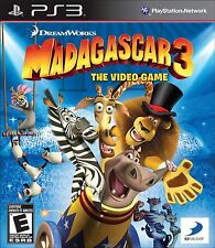 Madagascar 3: The Video Game (Sony PlayStation 3, 2012) COMPLETE