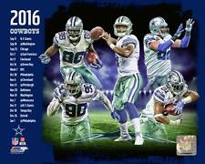 Dallas Cowboys 2016 Team Collage NFL Football Photofile 8x10 Photo Picture