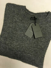 "ALL SAINTS GREY MARL ""EREN CREW"" JUMPER SWEATSHIRT TOP - XXL - NEW & TAGS"