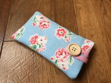 iPhone 7 / 7 Plus Padded Case Made With Cath Kidston Blue Ashdown Rose Fabric