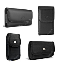 """Pouch for Nokia Lumia 1520 or LG G Flex (6.0"""") phone with a protective case on"""