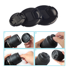 67/72/77/86mm Camera Front Lens Cap Cover Snap-on for Sony Nikon Olympus Pentax