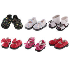 1 Pair of Adorable PU Leather Shoes for 12'' Blythe Azone Doll Dress up Accs