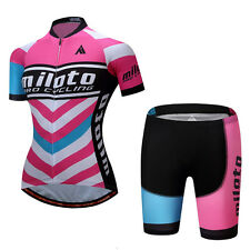 Cycling Jersey Ciclismo Bike Women Bicycle Outdoor Sports Wear Shirt  Bib Shorts