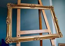 Stunning Large Antique Repro Swept Gilt Picture Frame v Ornate Rococo 77X52 CM*R