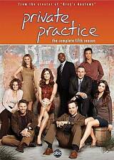 Private Practice: The Complete Fifth Season (DVD, 2012) Like New