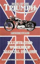 TRIUMPH MOTORCYCLE FACTORY WORKSHOP MANUAL1935-1939 New