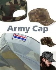 Beechfield Camo Army Cap Camouflage Cap Military Military Camouflage CB33